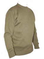 Franco Ponti Crew Neck Sweater - Tan