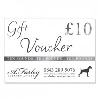 £10 Gift Voucher for A. Farley Country Attire