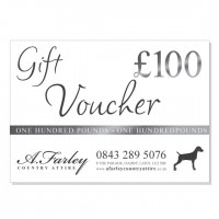 £100 Gift Voucher for A. Farley Country Attire