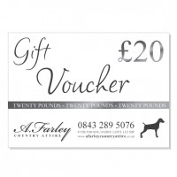 £20 Gift Voucher for A. Farley Country Attire