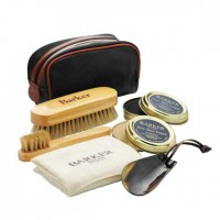 Barker Shoe Care Kit - Valet Set - 1x Black & 1x Neutral Polish
