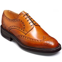 Barker Shoes - Grassington Cedar Calf Brogue