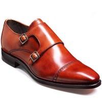 Barker Shoes - Lancaster Rosewood Calf - Monk Shoe