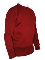 Franco Ponti Crew Neck Sweater - Red