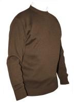 Franco Ponti Crew Neck Sweater - Taupe