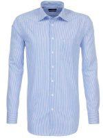 Seidensticker Blue Stripe Shirt - Classic Splendesto Cotton