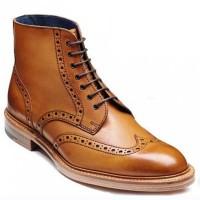 Barker Shoes - Butcher Cedar Calf - Brogue Boots