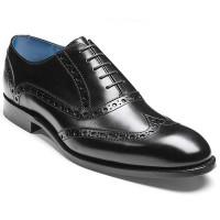 Barker Shoes - Grant - Black Calf - Brogue