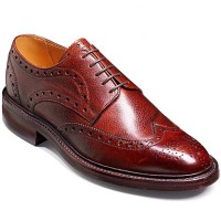 Barker Shoes - Grassington Cherry Grain - Stormwelted