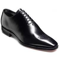 Barker Shoes - Mozart Black Calf - Wholecut Lace up