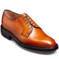 Barker Shoes - Nairn Cedar Grain - Derby Style