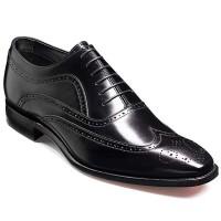 Barker Shoes - Vivaldi Black Calf - Lace Up Brogue