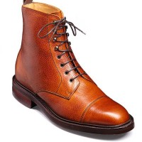 Barker Boots - Lambourn Cedar Grain Calf - Country Derby Boot