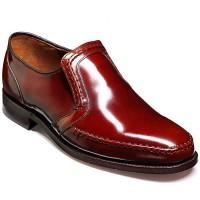 Barker Shoes - Hadley Wood Brown Hi-Shine - Oxford Loafer