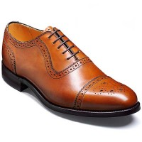 barker-shoes-leybourne-conker-caBarker Shoes - Leybourne Conker Calf - Oxford Brogue Wide-Fitlf-oxford-brogue