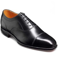 Barker Shoes - Lincoln Black Calf - Handcrafted Oxford