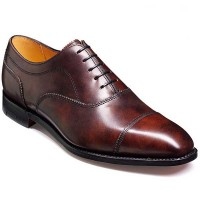 Barker Shoes - Lincoln Brown Shadow Antique Calf - Oxford