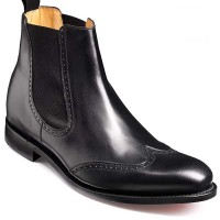 Barker Shoes - Luxembourg Black Calf - Chelsea Boots