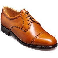 Barker Shoes - Staines Cedar Calf - Oxford Style - Extra Wide