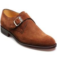 Barker Shoes - Northcote Castagnia Suede - Monk Strap