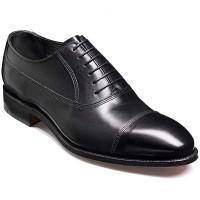 Barker Shoes - Nottingham Black Calf - Handcrafted Oxford