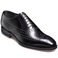 Barker Shoes - Nunthorpe Black Calf - Oxford Brogue Style