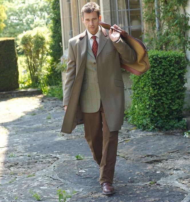 Get The Look: Covert Coat - Tweed Jacket - Brown Cords - Brogue Shoes