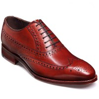 Barker Shoes - Nunthorpe Rosewood Calf - Oxford Brogue Style