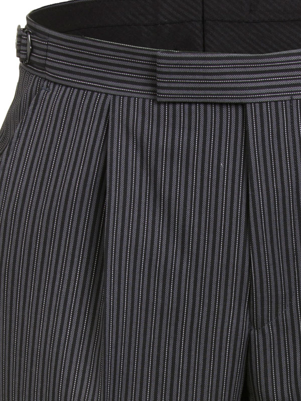 Magee Men's Striped Morning Trousers