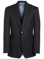 Magee Navy Chalk Stripe Suit