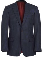 Magee Navy Multi Pinstripe Suit