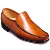 Barker Shoes - Javron Moccasin Cedar Calf