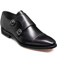 Barker Shoes - Lancaster Black Calf - Monk Shoe