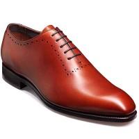 Barker Shoes - Alderney - Handcrafted Wholecut Shoe - Rosewood Calf
