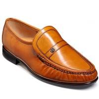 Barker Shoes - Jefferson Cedar Kid Leather - Moccasin