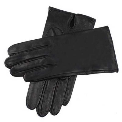 Dents James Bond - Skyfall Leather Gloves - Unlined Black Leather