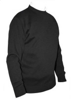 Franco Ponti Crew Neck Sweater - Charcoal