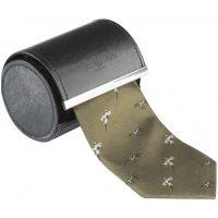 Alan Paine - Ripon Silk Tie - Pheasant & Dog Design - Olive Green