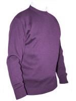 Franco Ponti Crew Neck Sweater - Lilac