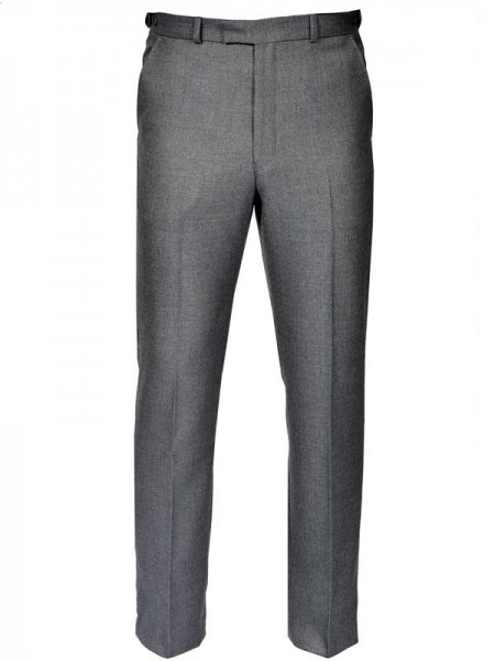 Gurteen Trousers  – Cambridge Flannel – Granite Grey