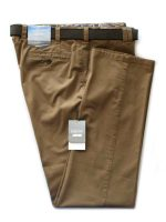 Meyer Trousers Camel Soft Cotton Chinos - Mid-Weight Oslo