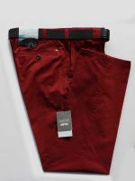 Meyer Trousers Red Soft Cotton Chinos - Oslo 316