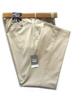 Meyer Trousers Beige Cotton Chinos - Light-Weight Roma
