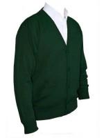 Franco Ponti Cardigan - Merino Wool Blend K05 - Green