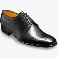 Barker Flex Shoes SS14 - Redhill - Derby Brogue - Black Calf