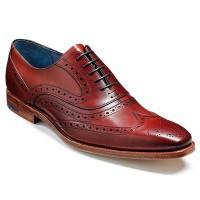 Barker Shoes - McClean Brogue - Rosewood Calf