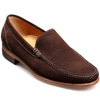 Barker Shoes SS14 - Ripley - Loafer - Bitter Choc Suede
