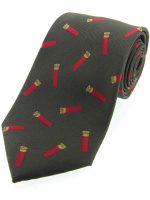 soprano-red-shotgun-cartridge-green-printed-silk-country-tie-wc70