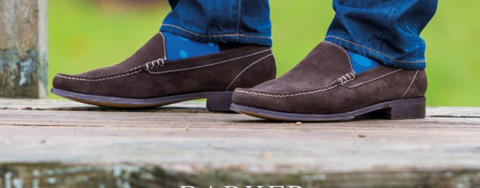 Get The Look: Men's Suede Loafer - Ripley by Barker Shoes
