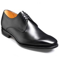 Barker Flex Shoes - Thornton - Derby Style - Black Calf